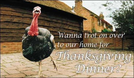 Thanksgiving Invitation ecard, online card