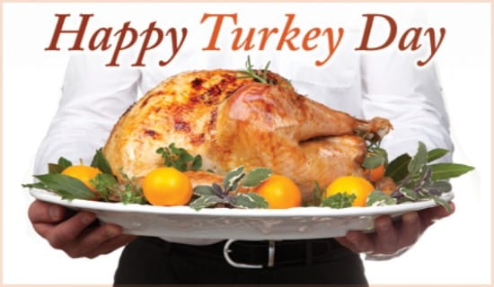 Happy Turkey Day ecard, online card