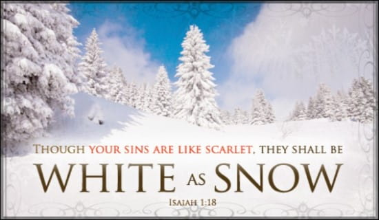 White As Snow ecard, online card