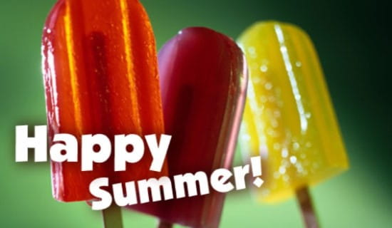 Happy Summer ecard, online card