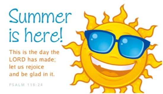 Summer is Here ecard, online card