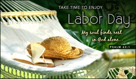 Enjoy Labor Day ecard, online card