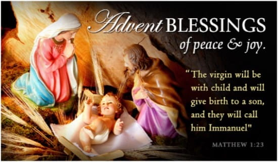 Free christian ecards email greeting cards online updated daily advent blessings m4hsunfo