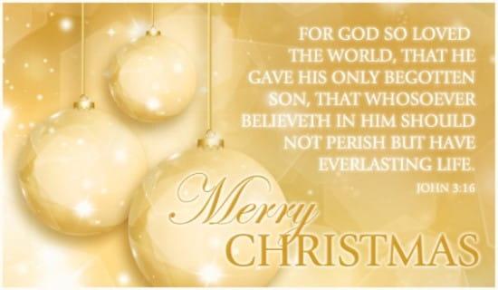 for god so loved ecard online card - Online Greeting Cards