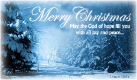 Romans 15:13a ecard, online card