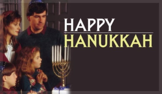 Happy Hanukkah ecard, online card