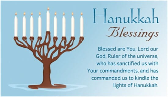 Image result for hanukkah blessings