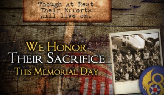 Honor Sacrifice ecard, online card