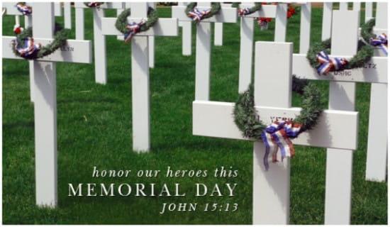 Memorial Grave ecard, online card