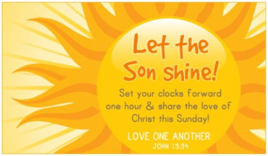 Son Shine ecard, online card