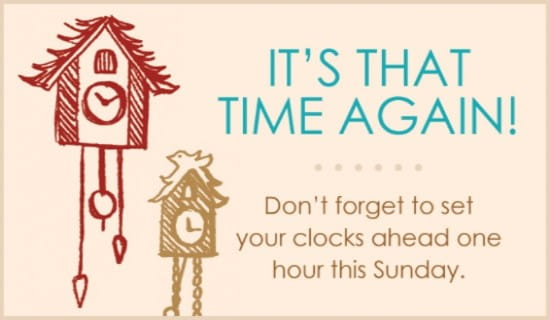 That Time Again ecard, online card