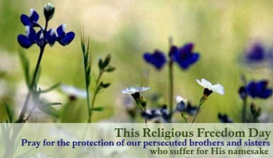 Religious Freedom Day ecard, online card