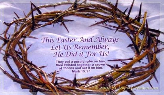 Easter ecard, online card