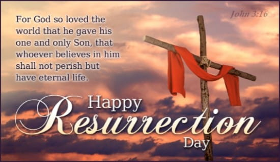Happy Resurrection Day ecard, online card