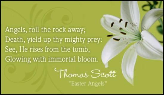 Easter Angels ecard, online card
