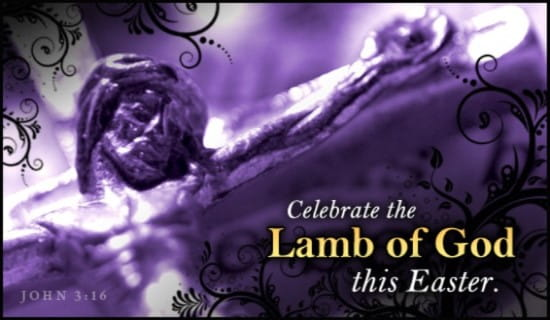 Lamb of God ecard, online card