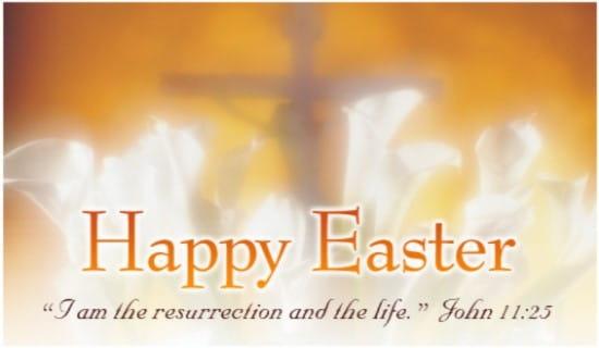 John 11:25 ecard, online card