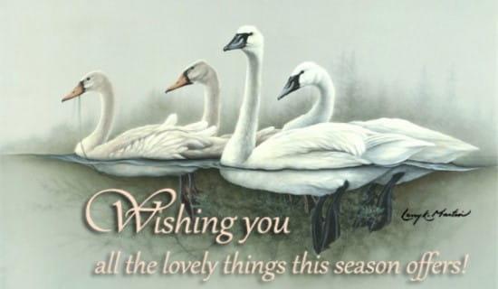 Lovely Things ecard, online card