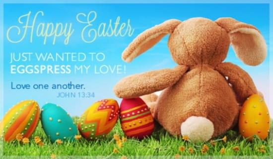 Eggspress Love ecard, online card