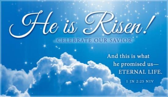 1 John 2:25 ecard, online card