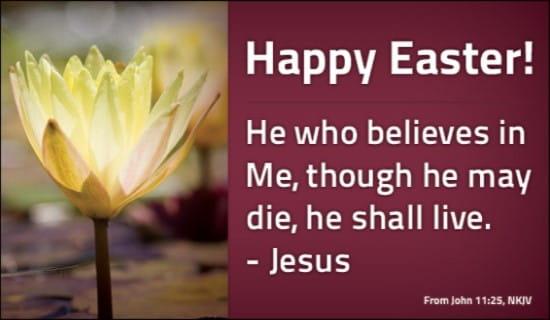 John 11:25 NKJV ecard, online card