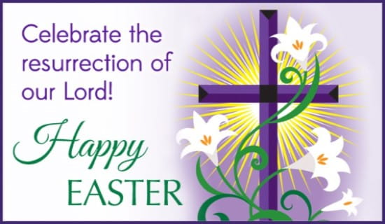Happy Easter ecard, online card
