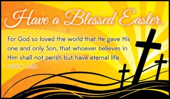 John 3:16 NIV ecard, online card