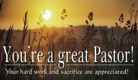 Great Pastor ecard, online card