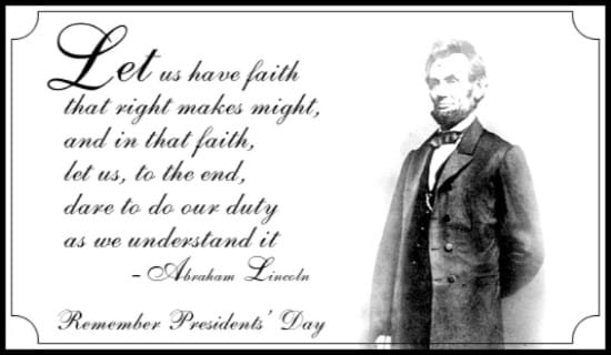 Have Faith eCard - Free President's Day Cards Online
