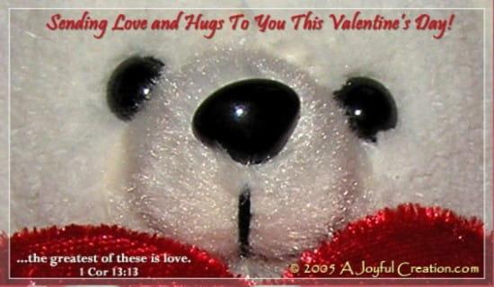 Happy Valentine's ecard, online card