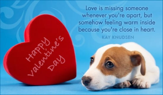 Home ECards Holidays Valentines Day Missing You Ecard Online Card