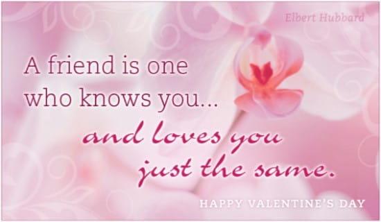 Friend Love ecard, online card