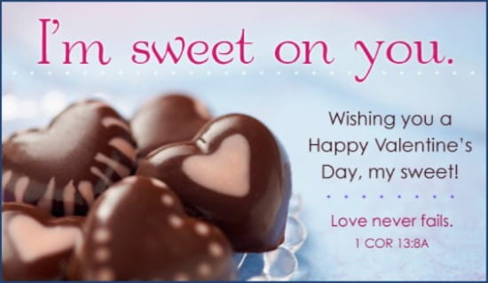 Sweet on You ecard, online card
