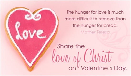 Love of Christ ecard, online card