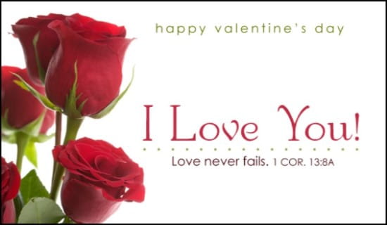I Love You! ecard, online card