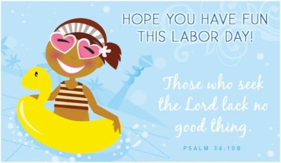 Fun Labor Day ecard, online card
