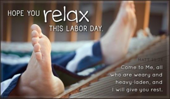 Labor Day ecard, online card