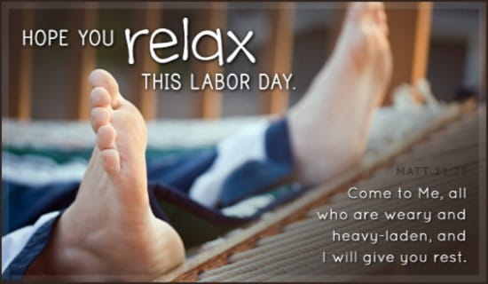 Labor Day ecard, online card