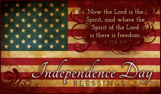 Independence Day ecard, online card