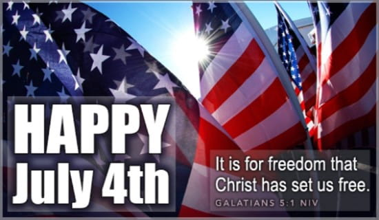 Happy 4th ecard, online card