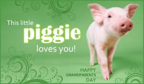 Grandparents Day ecard, online card