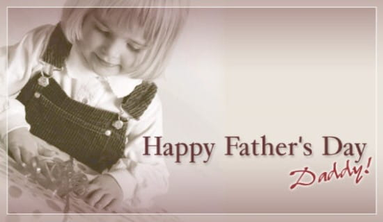 Fathers Day - Daughter ecard, online card