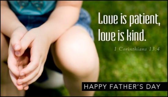 Love is Patient ecard, online card