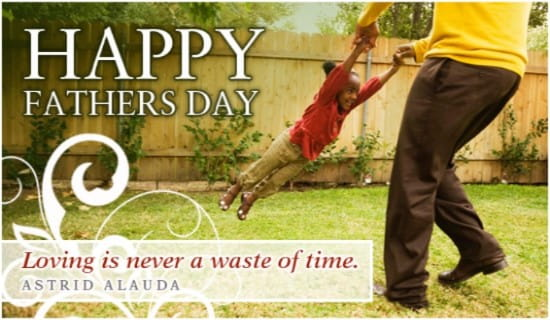 Loving Father ecard, online card