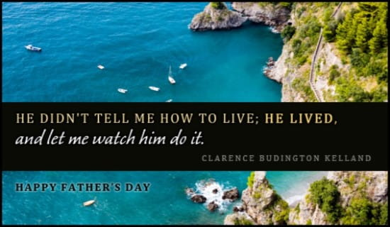 Watch Him Live ecard, online card