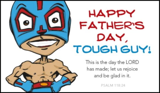 Tough Guy ecard, online card