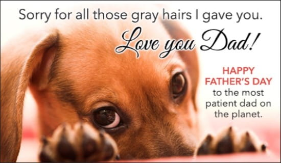 Gray Hairs ecard, online card