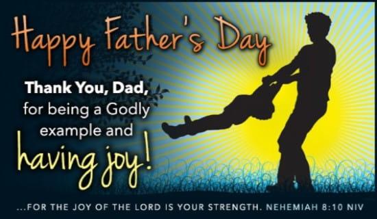 Joy - Nehemiah 8:10 NIV ecard, online card