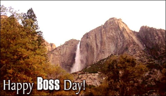 Happy Boss Day! ecard, online card