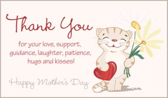 Thank You Mom Ecard Online Card